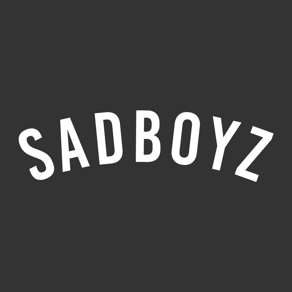 SADBOYZ Sticker Car Window Decal